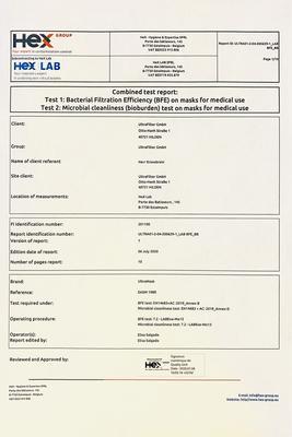 Testreport zu ultramask