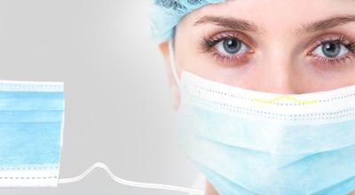 ultramask Typ IIR Medizinische Gesichtsmaske