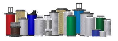 Übersicht alternative Filterelemente